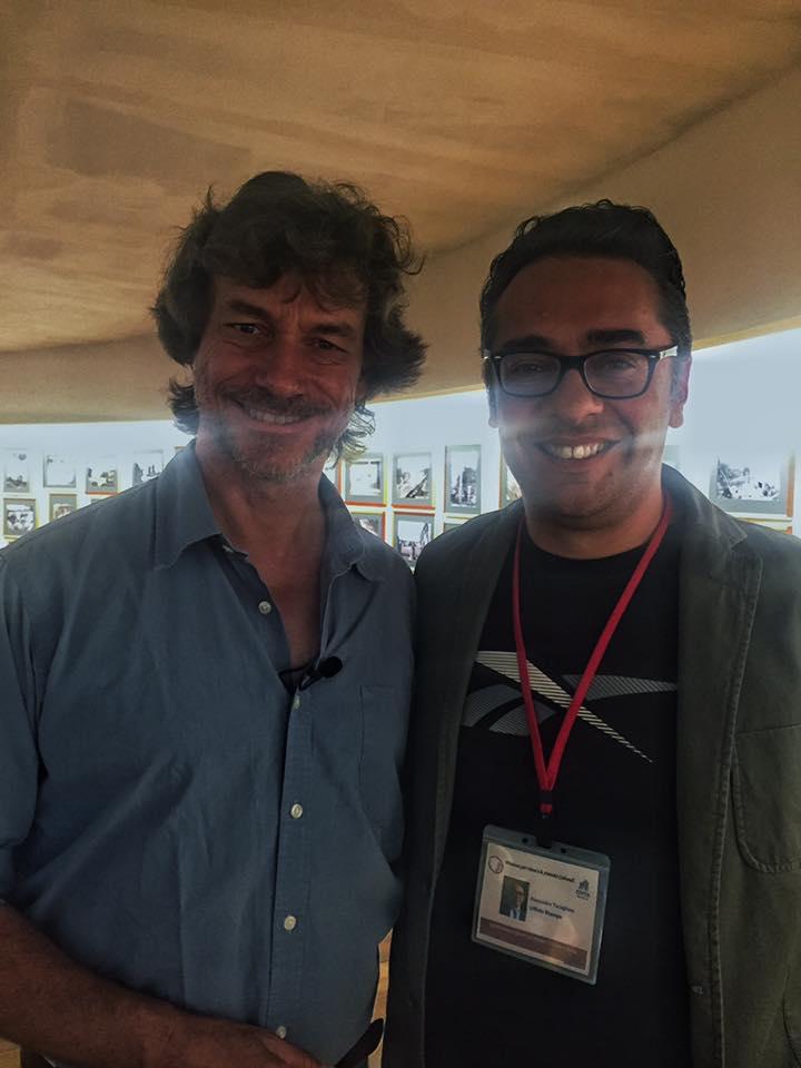 Con Alberto Angela