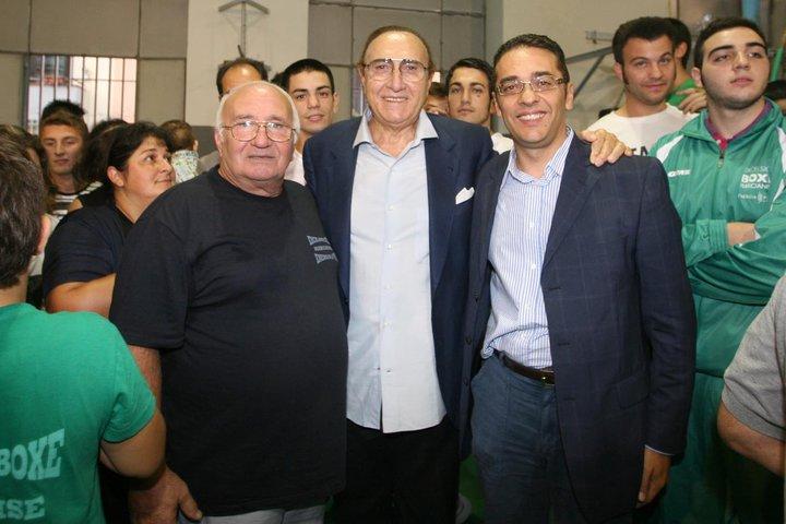 Con il maestro Mimmo Brillantino e Pippo Baudo - 26 settembre 2010