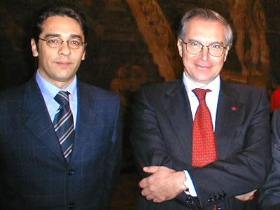 Incontro con Guglielmo Epifani presso il Teatro di Corte della Reggia di Caserta