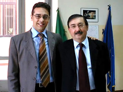 Incontro con Fabio Mussi presso la sede del Comune di Marcianise
