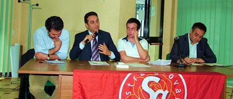 Da sinistra: Cerchia, Tartaglione, Martino, Zarrillo