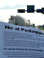Volantinaggio «No Pedaggio»